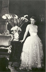 Young Ruth with Flowers